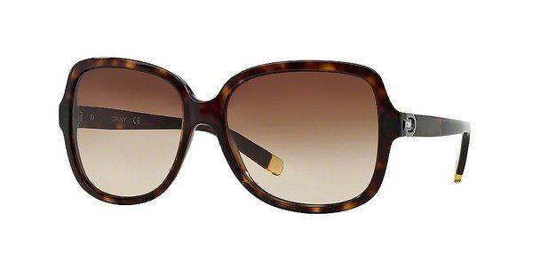 DKNY Damen Sonnenbrille » DY4084«, braun, 301613 - braun/braun