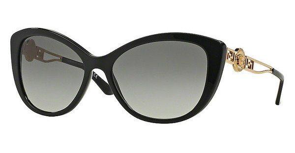 Versace Damen Sonnenbrille » VE4295« in GB1/11 - schwarz/grau