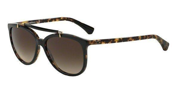 Emporio Armani Damen Sonnenbrille » EA4039« in 526413 - schwarz/braun