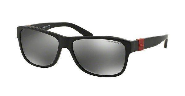 Ralph Lauren Herren Sonnenbrille » RL8131« in 52846G - schwarz/ silber