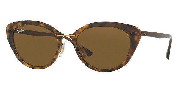 RAY-BAN Damen Sonnenbrille » RB4250« in 710/73 - braun/braun