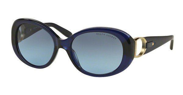 Ralph Lauren Damen Sonnenbrille » RL8118Q« in 50338F - blau/blau