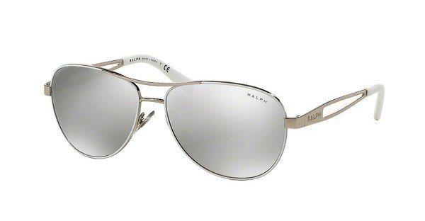 Ralph Damen Sonnenbrille » RA4115« in 30996G - weiß/silber