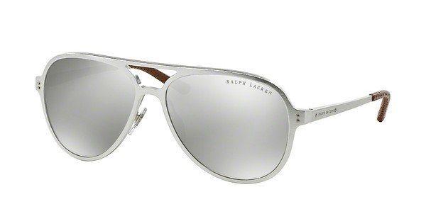 Ralph Lauren Herren Sonnenbrille » RL7049Q« in 92936G - schwarz/ silber