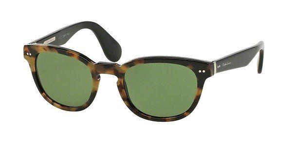 Ralph Lauren Herren Sonnenbrille » RL8130P« in 525452 - braun/grün