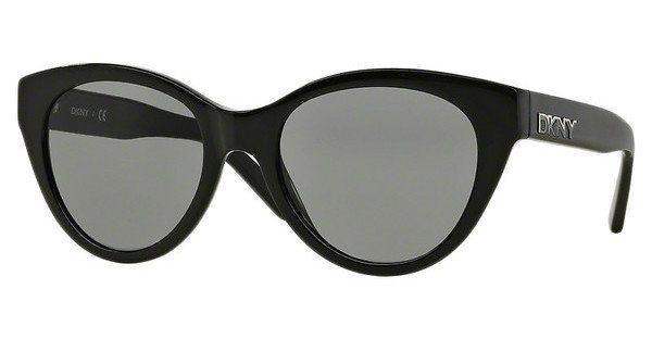 DKNY Damen Sonnenbrille » DY4135« in 368887 - schwarz/grau
