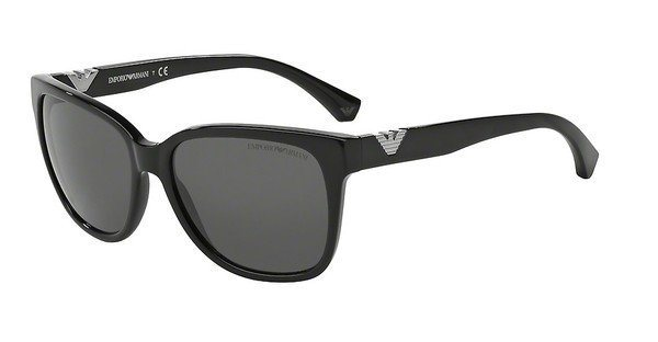 Emporio Armani Damen Sonnenbrille » EA4038« in 501787 - schwarz/grau