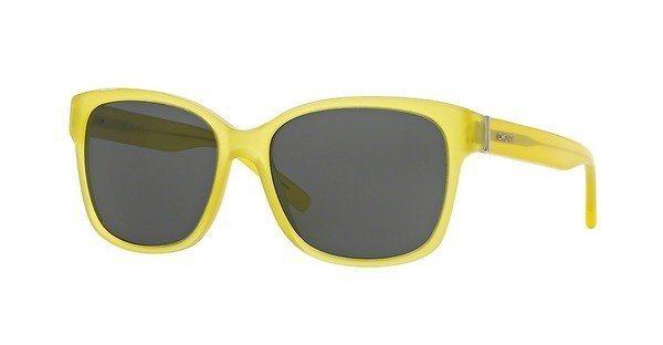 DKNY Damen Sonnenbrille » DY4096« in 368287 - gelb/grau