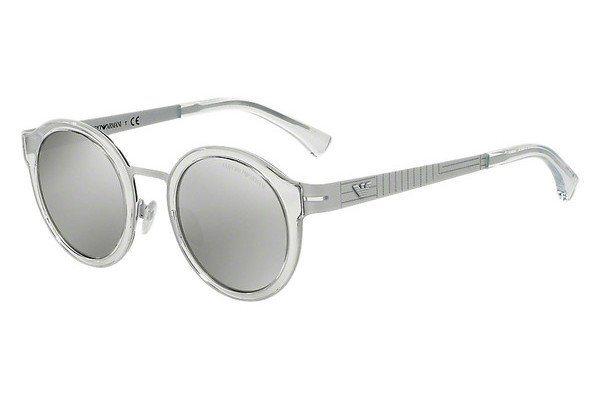 Emporio Armani Herren Sonnenbrille » EA2029« in 31076G - weiß/silber