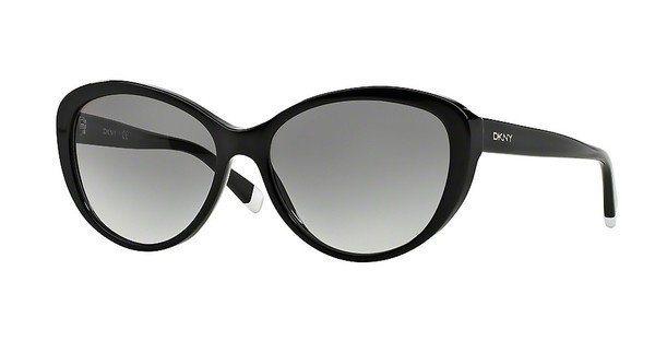 DKNY Damen Sonnenbrille » DY4084« in 300111 - schwarz/grau