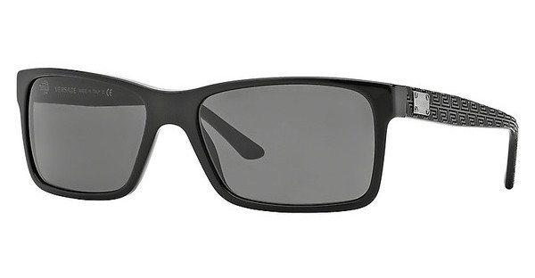 Versace Herren Sonnenbrille » VE4274« in GB1/87 - schwarz/grau