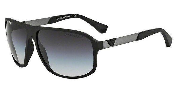 Emporio Armani Herren Sonnenbrille » EA4029« in 50638G - schwarz/grau