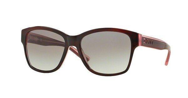 DKNY Damen Sonnenbrille » DY4134« in 369211 - rot/grau