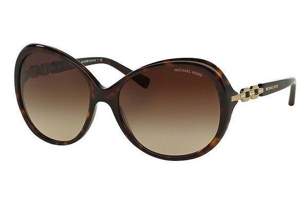 Michael Kors Damen Sonnenbrille »ANDORRA MK2008B« in 300613 - braun/braun