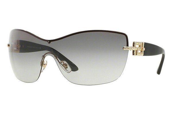 Versace Damen Sonnenbrille » VE2156B« in 100211 - gold/grau