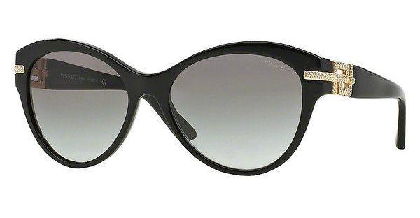Versace Damen Sonnenbrille » VE4283B« in GB1/11 - schwarz/grau