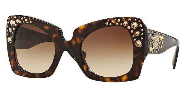 Versace Damen Sonnenbrille » VE4308B« in 108/13 - braun/braun