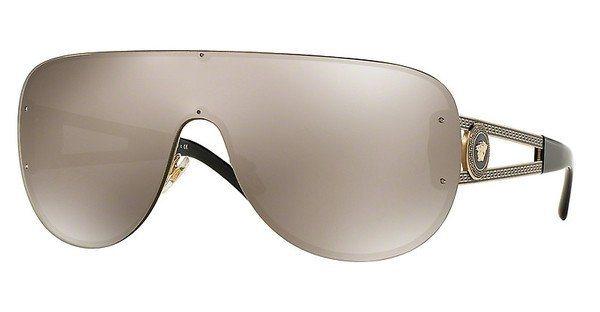 Versace Damen Sonnenbrille » VE2166« in 12525A - gold/gold