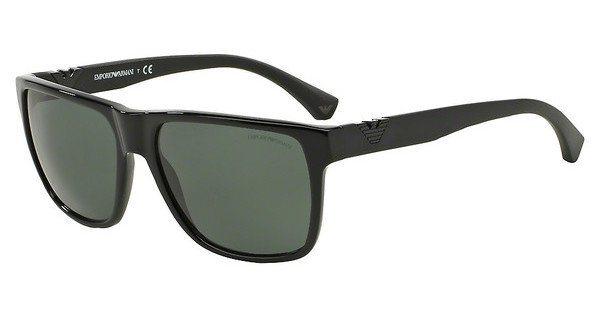 Emporio Armani Herren Sonnenbrille » EA4035« in 501771 - schwarz/ grün