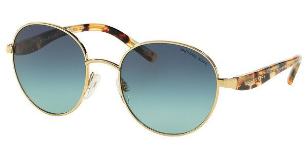 Michael Kors Damen Sonnenbrille »SADIE III MK1007« in 10934S - gold/grün