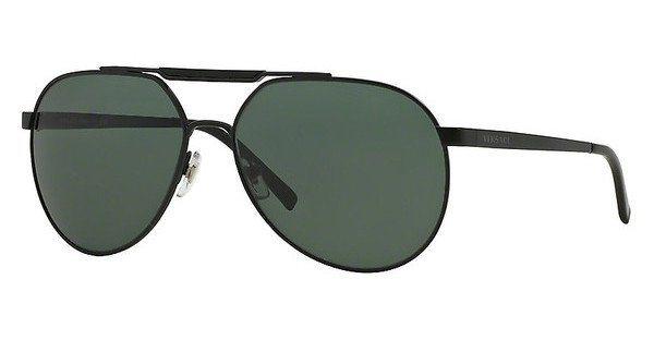Versace Herren Sonnenbrille » VE2155« in 126171 - schwarz/ grün