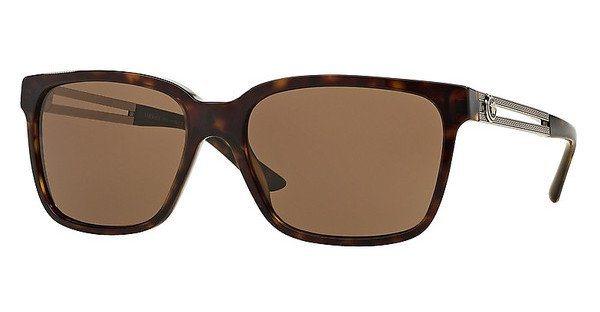 Versace Herren Sonnenbrille » VE4307« in 108/73 - braun/braun