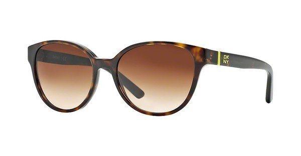 DKNY Damen Sonnenbrille » DY4117« in 301613 - braun/braun