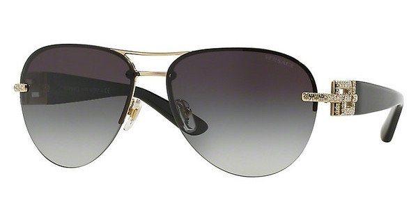 Versace Damen Sonnenbrille » VE2159B« in 12528G - gold/grau