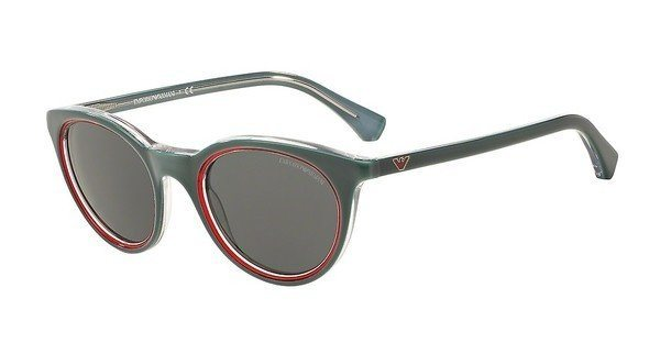 Emporio Armani Damen Sonnenbrille » EA4061« in 547987 - grün/grau