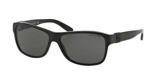 Ralph Lauren Herren Sonnenbrille » RL8131« in 500187 - schwarz/grau