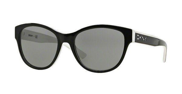DKNY Damen Sonnenbrille » DY4133« in 362787 - schwarz/grau
