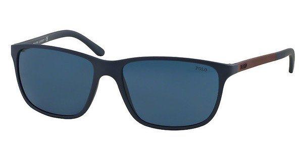 Polo Herren Sonnenbrille » PH4092« in 550680 - blau/blau