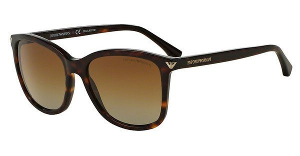 Emporio Armani Damen Sonnenbrille » EA4060« in 5026T5 - braun/braun