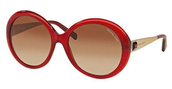 Michael Kors Damen Sonnenbrille »WILLA I MK2015B« in 308913 - rot/braun