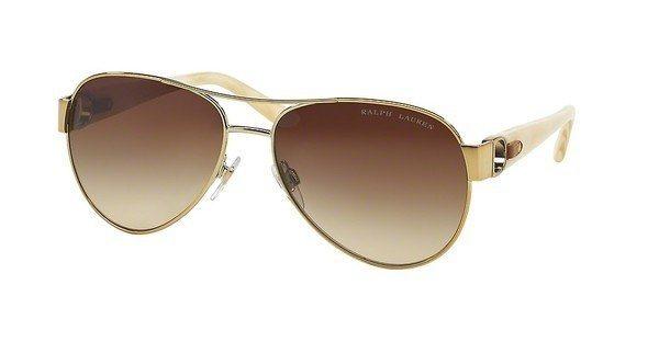 Ralph Lauren Damen Sonnenbrille » RL7047Q« in 928613 - gold/braun