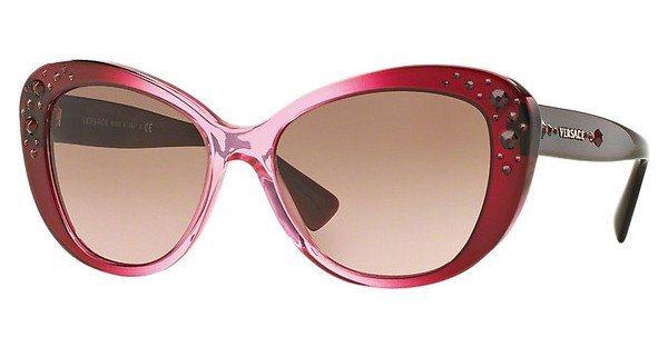 Versace Damen Sonnenbrille » VE4309B« in 515114 - rosa/ braun