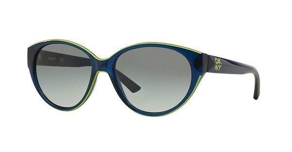DKNY Damen Sonnenbrille » DY4120« in 365911 - blau/grau