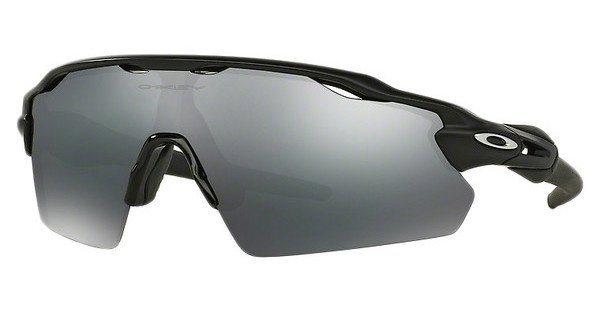 Oakley Herren Sonnenbrille »RADAR EV PITCH OO9211« in 921101 - schwarz/schwarz
