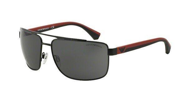 Emporio Armani Herren Sonnenbrille » EA2018« in 300187 - schwarz/grau