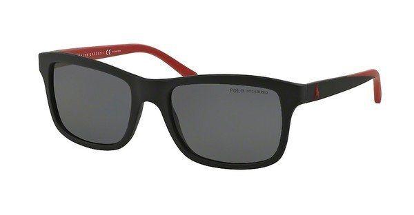 Polo Herren Sonnenbrille » PH4095« in 550481 - schwarz/grau