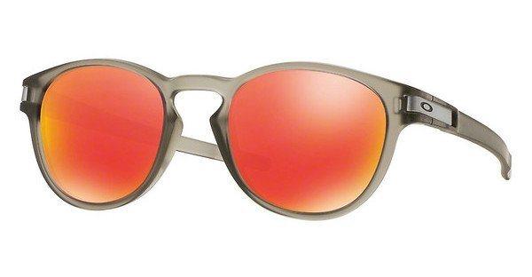 Oakley Herren Sonnenbrille »LATCH OO9265« in 926515 - grau/rot