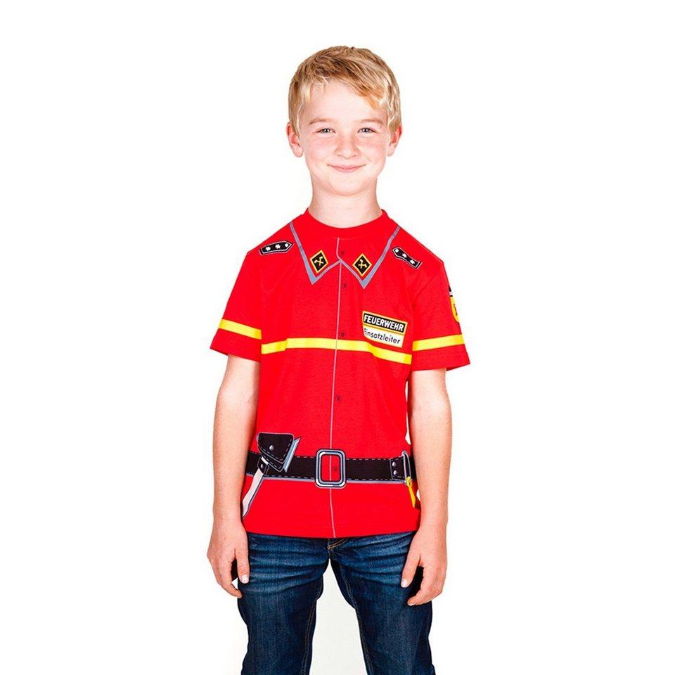 BABY-WALZ T-Shirt Feuerwehr in rot