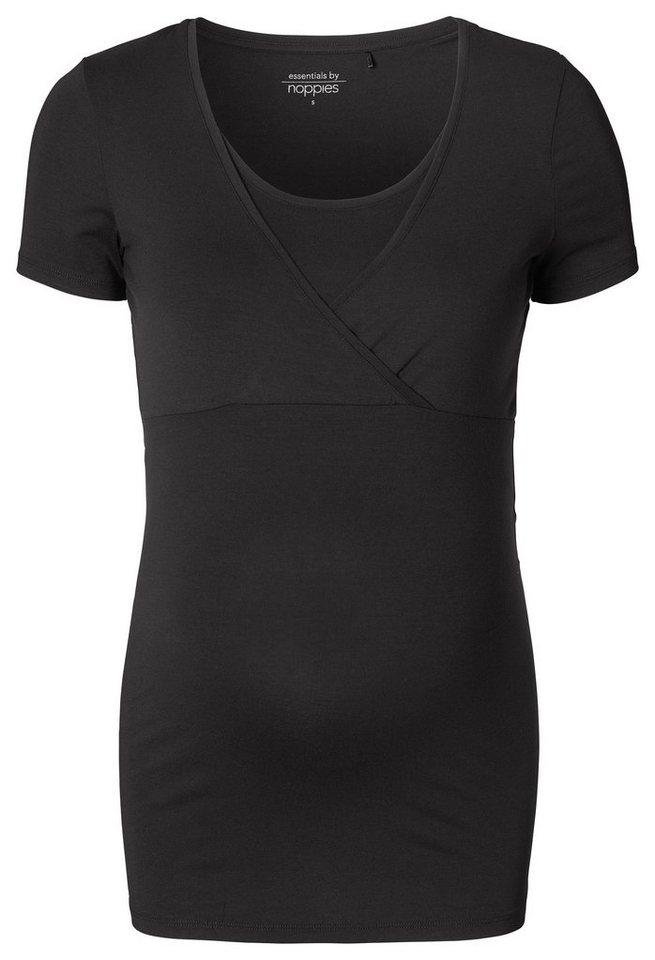 NOPPIES Still-Shirt »Lely« in Black