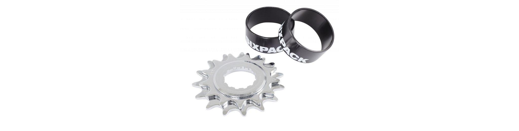 Sixpack Fahrradkasetten »Single Speed Kit black«