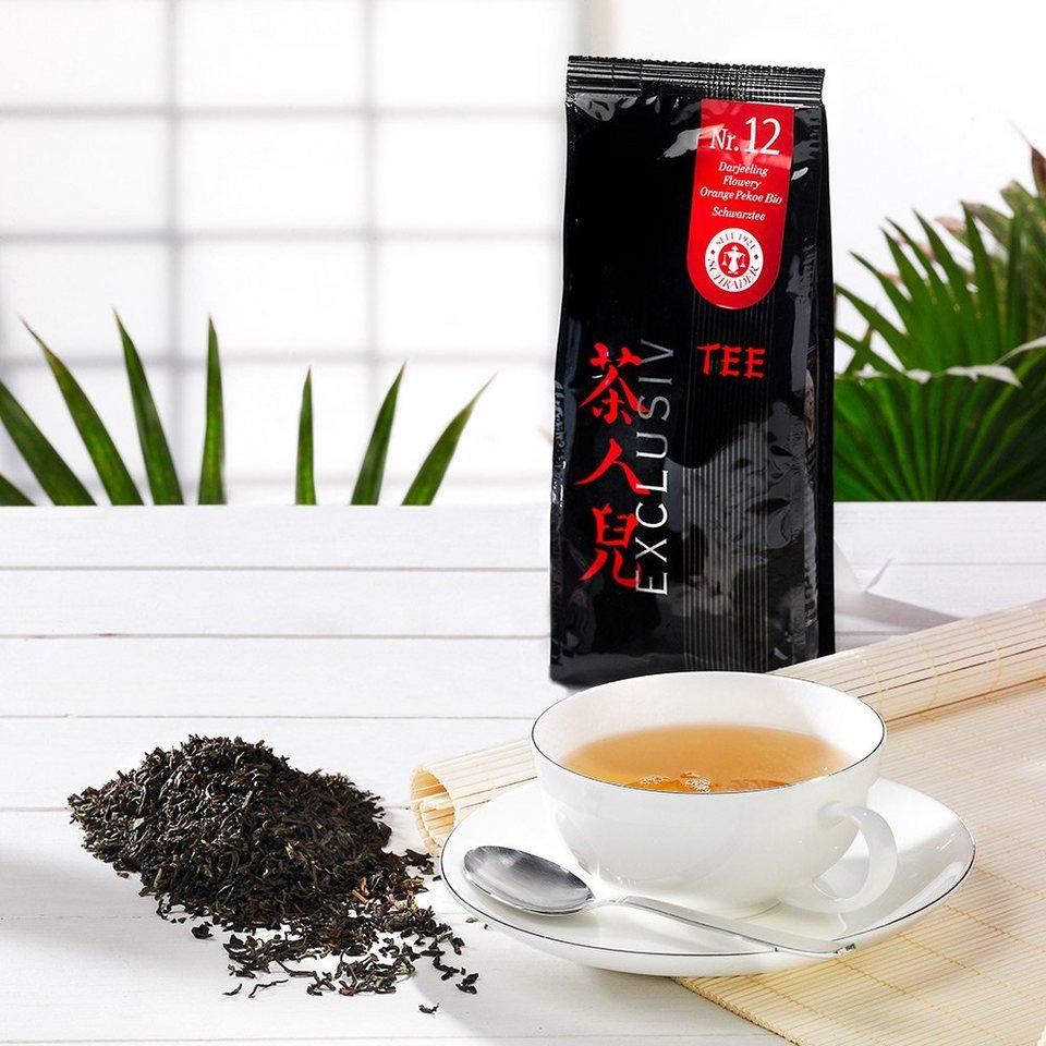 Schrader Tee Nr. 12 Schwarzer Tee Darjeeling Flowery Orange Pekoe Bio