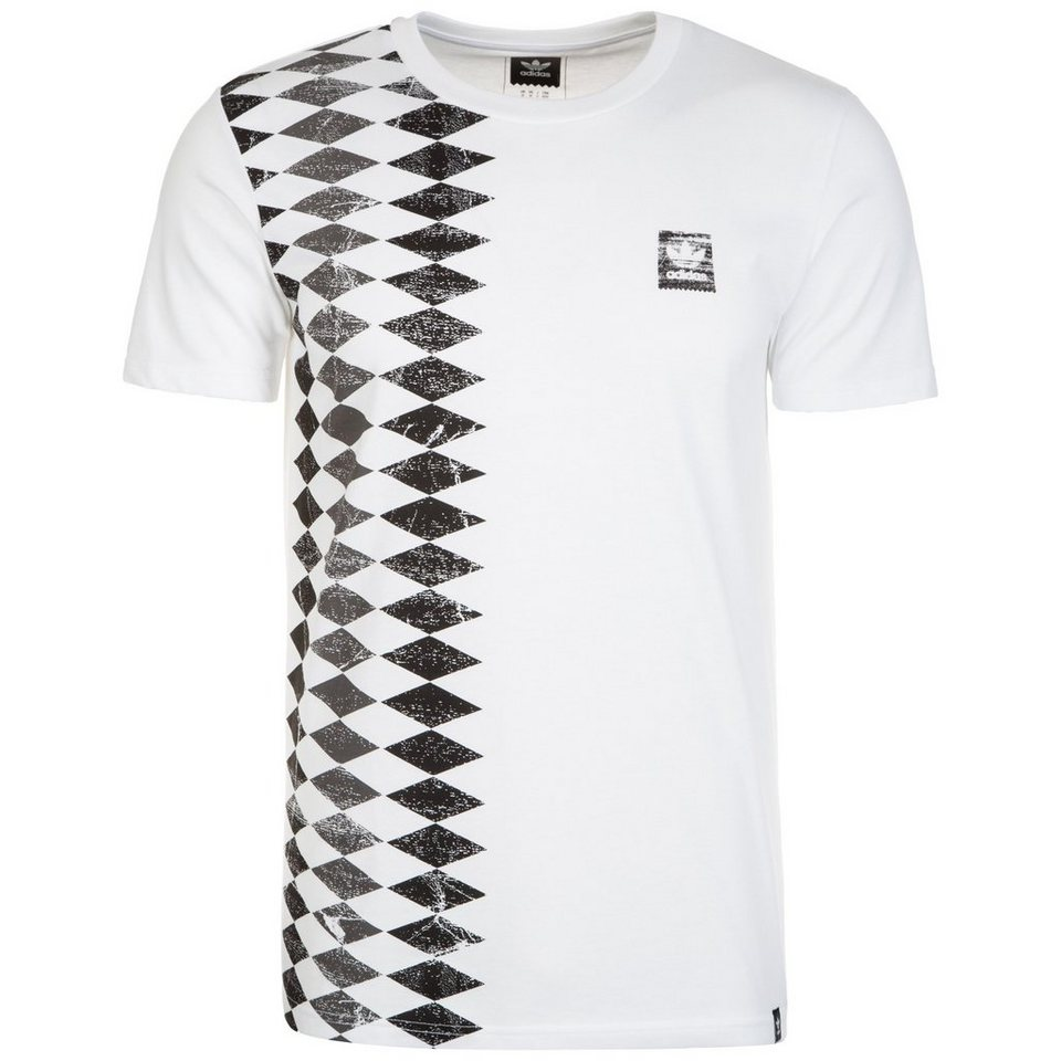 adidas Originals Copa Spain T-Shirt Herren in weiß / schwarz