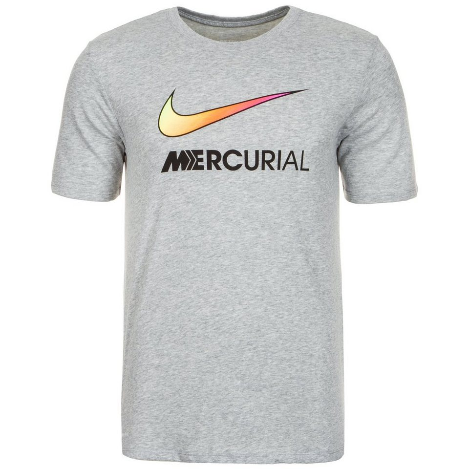 NIKE Mercurial Swoosh T-Shirt Herren in grau