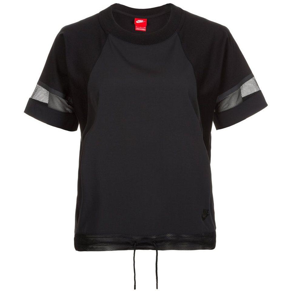 nike sportswear bonded t shirt damen online kaufen otto. Black Bedroom Furniture Sets. Home Design Ideas