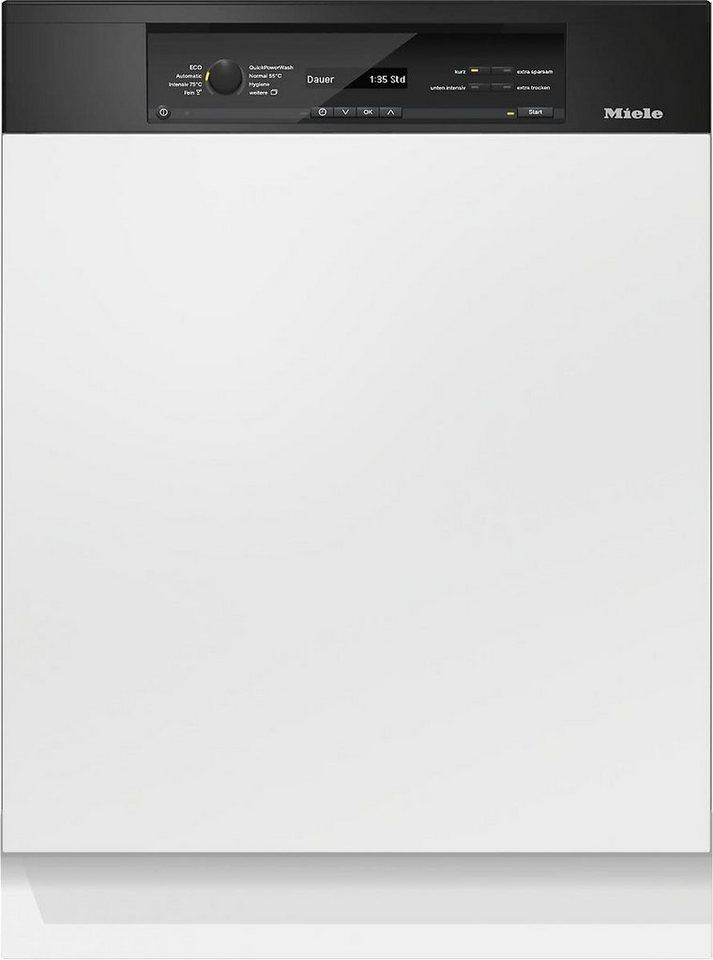 MIELE Teilintegrierbarer Geschirrspüler G 6840 SCi OBSW, A+++, 9,9 Liter, 14 Maßgedecke in schwarz