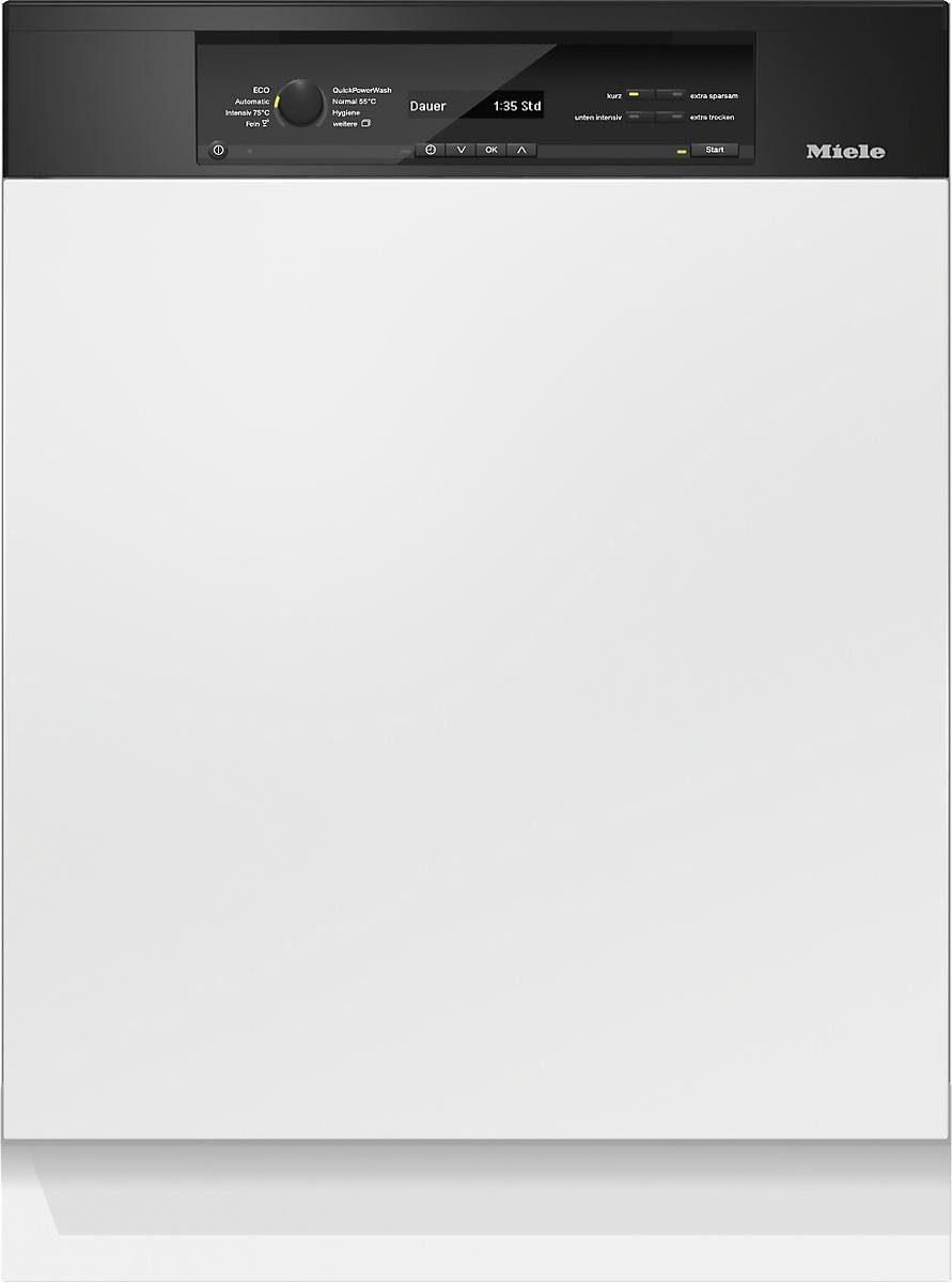 MIELE Teilintegrierbarer Geschirrspüler G 6840 SCi OBSW, A+++, 9,9 Liter, 14 Maßgedecke